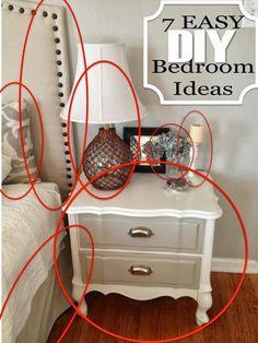 7 easy DIY Master Bedroom Ideas
