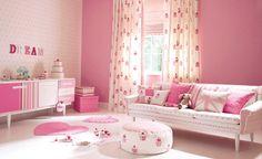 pink midcentury modern
