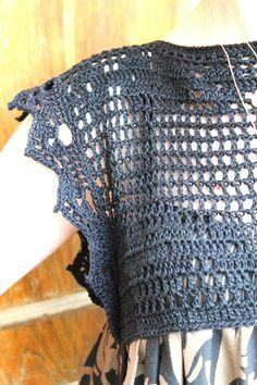 Sans Limites Crochet: Dress Yolk DIY