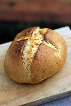 Easy Artisan Bread by emilylovesfood: Classy and crusty!  #Bread #emilylovesfood