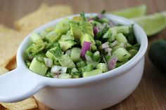 Avocado-Cucumber Salsa