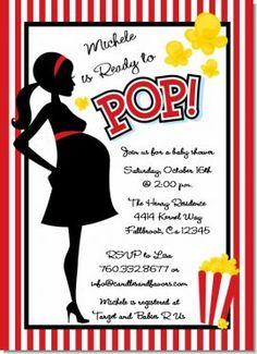 baby shower ideas, pop babi, baby shower themes, pop invit, babyshow, ready to pop baby shower theme, readi, babi shower, baby showers