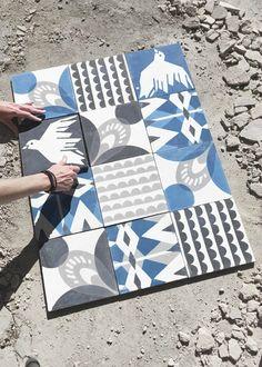 Hous of Rym cement tiles
