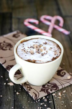 hot tOffee chocolate