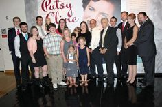 Patsy Cline's family, 2012, at the Country Music Hall of Fame.