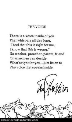 Listen to your inner voice..