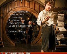 Sherlock and The Hobbit mash-up