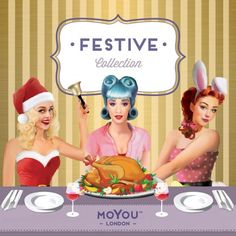Festive Plate Collection moyou.co.uk | info@moyoumarketing.com #moyoulondon #nailart #pinup #stamp #stamping #manicure #pinup #london #xmas #navidad #snowflakes