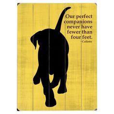 Perfect Companion Sign.