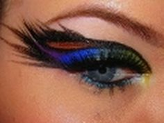 Peacock eyeshadow!!!!!!