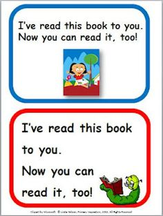 """FREE     How to turn your read-alouds into """"readables"""""""