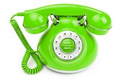 Green Phone call, vintage phones, orang, color, telephones, old school, leap of faith, lime green, old stuff