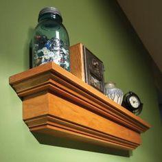 How to Build a Wall Shelf