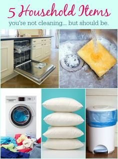 5 household items you're forgetting to clean. And they're filthy!! https://my.leadpages.net/leadbox/14744f173f72a2%3A13e8bd7deb46dc/5639274879778816/