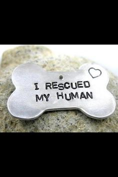adopt a dog, anim, hand stamped, dog tags, pet, baby dogs, puppi, friend, true stories