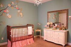 Vintage Girl Nursery baby