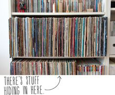 How to: Make a Secret Bookshelf Stash and Storage Spot. obvious ads are obvious, but still a great idea. :D