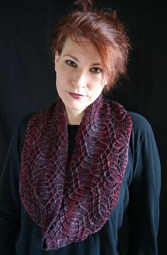 Ravelry: Arbor Long Cowl / Tierceron 4 pattern by Jennifer Kirchenbauer