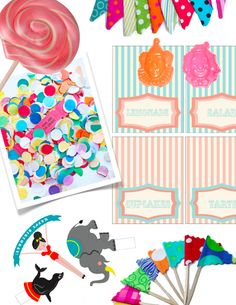 Circus Theme Party Favors