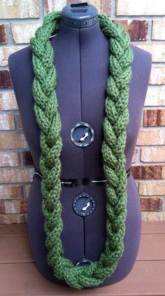 Crocheted Fashion Braided Neck Warmer