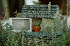 Fairy garden house.