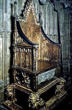 The Stone of Scone, also known as the Coronation Stone or the Stone of Destiny, until very recently rested on a shelf beneath the seat of the Coronation Chair in Westminster Abbey in London (it has now been returned to Scotland).