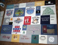 blanket, tshirt quilt, quilt design, tee shirt quilts, old shirts, tee shirts, babies clothes, t shirts, quilt tutorials