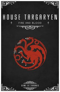 A Song of Ice and Fire - House Targaryen (by LiquidSoulDesign)