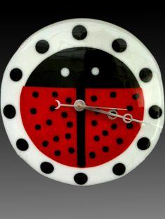 Ladybug Clock!   www.coppermstudio.com