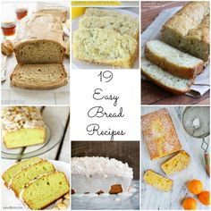 19 Easy Homemade Bre