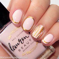 Maryam Maquillage ! Pink Patel NailArt