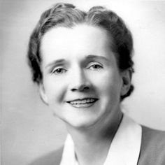 Rachel Carson. The author of Silent Spring was godmother to the environmental movement.
