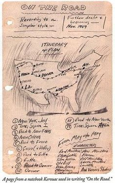 Jack Kerouac's Notebook