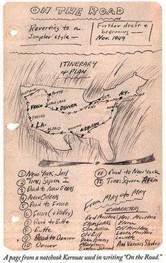 Jack Kerouac's Notebook