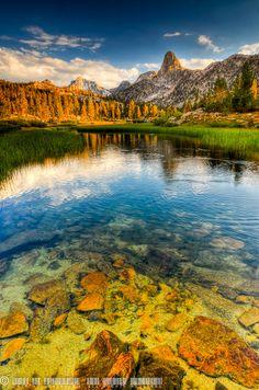 Near Arrowhead Lake, Kings Canyon National Park, California.