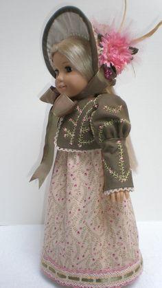 CAROLINE ABBOTT REGENCY Dress 4pc  American Girl