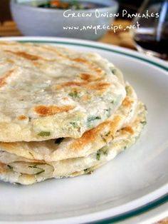 scallion pancakes, dim sum recipes, yum, asian green onion pancake, green onion pancakes, green onion pancake recipe, green onions