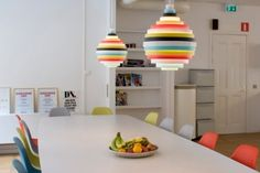 Funky lamps.