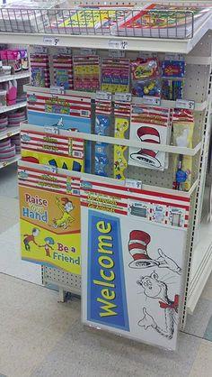 When I am a teacher, Dr. Seuss will be my classroom's theme!!