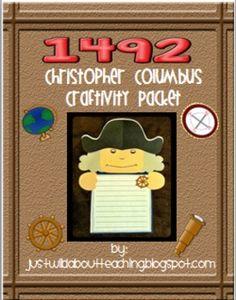 Christopher Columbus  {Craftivity}