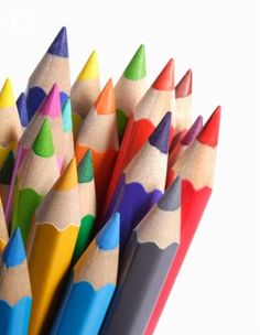 It's hard to beat the smell of freshly sharpened coloured pencils!