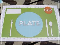 laminated placemats