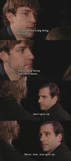 Jim and Pam.