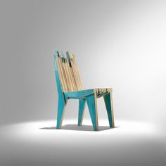 nucleo petroglyph chair