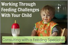 Ideas for working through feeding challenges.  New consulting services available from an OT that specializes in feeding and sensory processing.