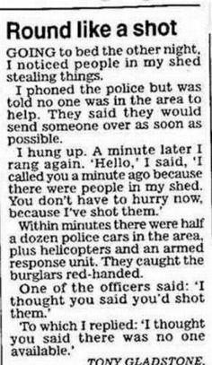 police....