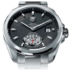 TAG Heuer Men's WAV511A.BA0900 Grand Carrera Automatic Calibre 6 RS Watch from TAG Heuer @ TAG-Heuer-Watches .com