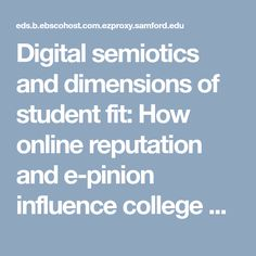 Digital semiotics an