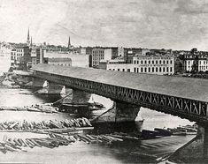 First Pearl Street Bridge - 1874