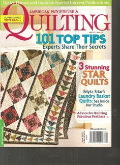 American Patchwork & Quilting Magazine (101 Top « Library User Group